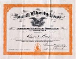 Fourth Liberty Loan - Illinois, 1918