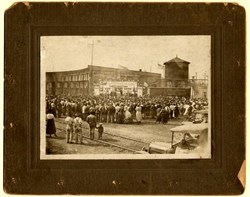 Original Fourth Liberty Loan Rally Photograph - 1918