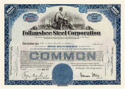 Follansbee Steel Corporation - Pittsburgh
