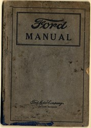 Original Ford Car and Truck Manual - Detroit, Michigan 1919