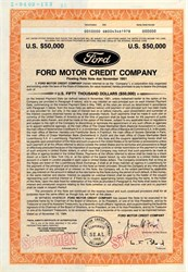 Ford Motor Credit Company - Delaware 1985
