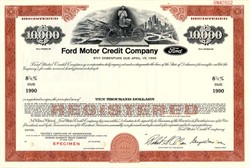Ford Motor Credit Company - Delaware 1970