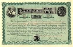 Fort Payne Coal and Iron Company - Alabama 1892