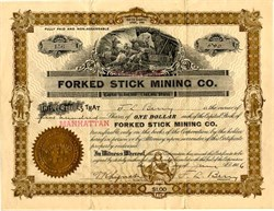 Forked Stick Mining Co. - South Dakota 1906