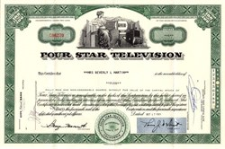Four Star Television - California 1963