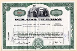 Four Star Television - California 1964