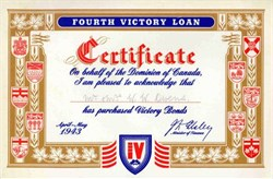 Canada Fourth Victory Loan 1943
