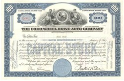 Four Wheel Drive Auto Company (First 4 Wheel Drive Company) - 1948