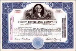 Foust Distilling Company