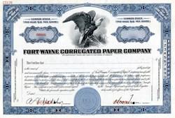 Fort Wayne Corrugated Paper Company - Indiana 1948