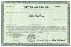 Frontier Airlines, Inc. - Nevada