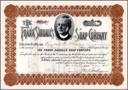 Frank Siddall's Soap Company - 1908