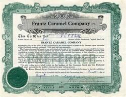 Frantz Caramel Company - Honey Brook, Pennsylvania 1923