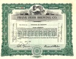 Frank Fehr Brewing Co. - Louisville, Kentucky 1945