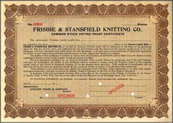 Frisbie & Stansfield Knitting Co.