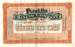 Franklin Mining Company - Upper Peninsula, Michigan 1923