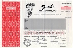 Frisch's Restaurants, Inc. ( Big Boy Vignette) - Ohio 1978