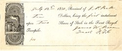 Front Royal Turnpike - Virginia 1850