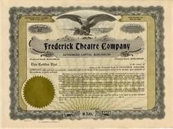 Frederick Theatre Company - 1923
