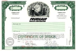 Fruehauf Trailer Corporation  - Delaware