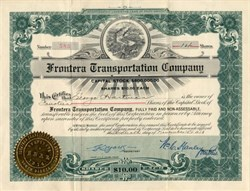 Frontera Transportation Company - South Dakota 1918