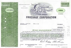 Fruehauf Trailer Corporation Stock