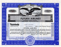 Futura Airlines - California 1962