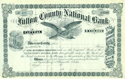 Fulton County National Bank - Unissued 18XX