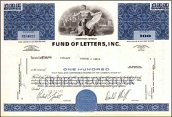 Fund of Letters Incorporated