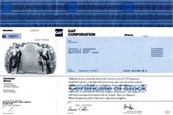 GAF Corporation - Delaware 1986