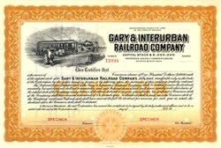 Gary & Interurban Railroad Company - Indiana