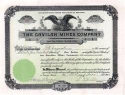 Gavilan Mines Company 1906 - Arizona