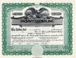 GASAV of OGDEN, Inc. - Utah 1931