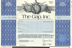 The Gap, Inc. (Retail Clothing Store) - Delaware