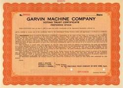 Garvin Machine Company