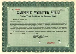 Garfield Worsted Mills