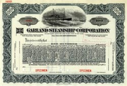 Garland Steamship Corporation - New York