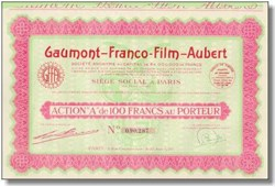 Gaumont - Franco Film - Aubert Stock 1930