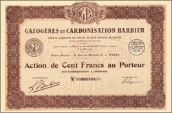Gazogenes et Carbonisation Barbier 1925 - Wood burning process to power an automobile