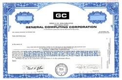General Computing Corporation - Delaware 1980