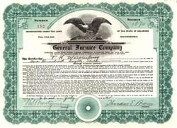 General Furnace Company 1925