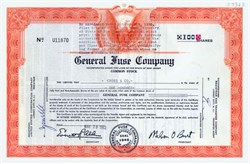 General Fuse Company 1962