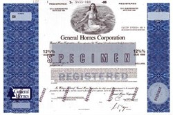 General Homes Corporation