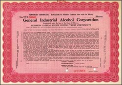 General Industrial Alcohol Corporation (Oldetyme Distillers Company)