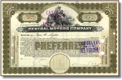 General Motors Company 1916 (Pre Bankruptcy)  - New Jersey