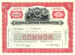 General Motors Corporation  (Pre Bankruptcy ) - 1955