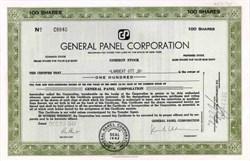 General Panel Corporation 1947