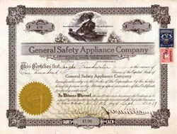 General Safety Appliance Company 1919 - Washington State