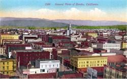 General View of Eureka, California Postcard