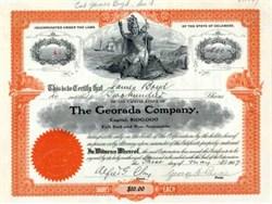 Georada Company 1907